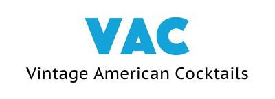 Vintage American cocktail logo
